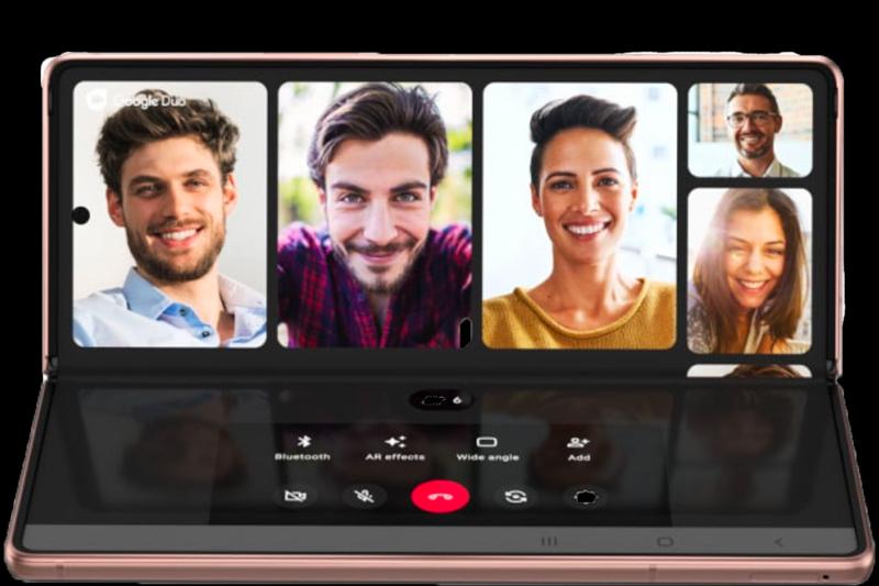 Điện thoại Samsung Galaxy Z Fold2 5G - Chế độ Flex Mode ưu việt
