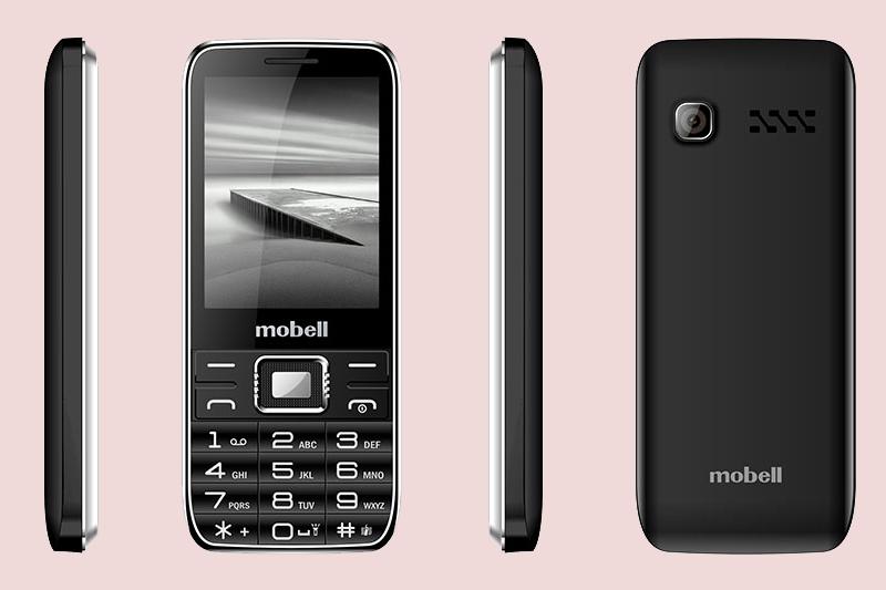 Mobell M529i | Góc cạnh bo tròn, chất liệu nhựa bền