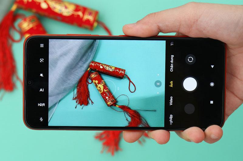 Xiaomi Redmi 9T | Giao diện chụp ảnh