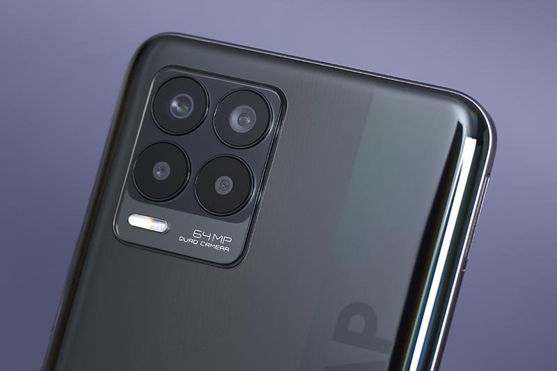 Realme 8 | Bộ 4 máy ảnh độ phân giải cao