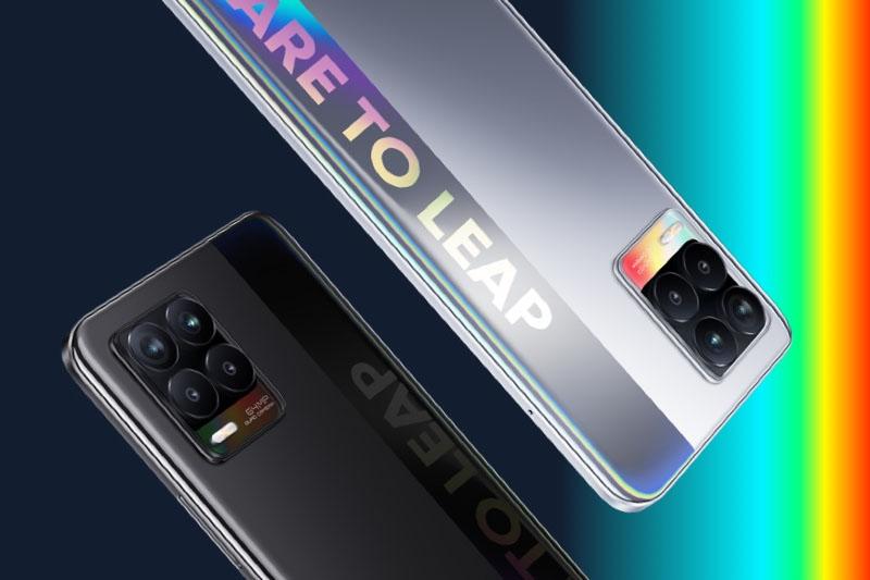Realme 8 | Chiếc điện thoại có 2 phiên bản màu