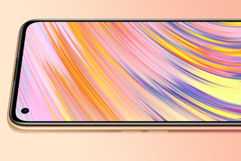 Điện thoại Realme V15   Màn hình Super AMOLED