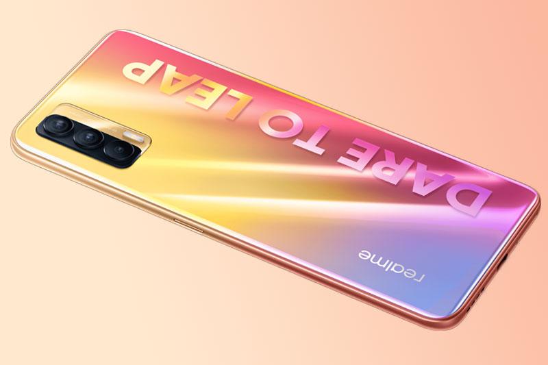 Điện thoại Realme V15   Phiên bàn màu Koi độc đáo