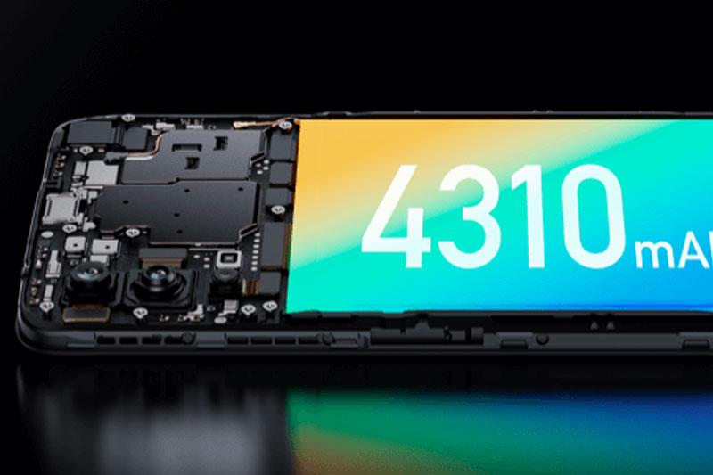 Điện thoại Realme V15   Dung lượng pin lớn