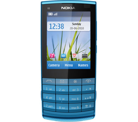 Nokia X3-02 Touch and Type-hình 1