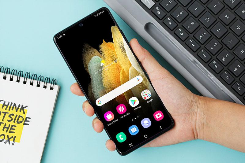 Galaxy S21 Ultra 5G | Công nghệ màn hình chuẩn cao nhất