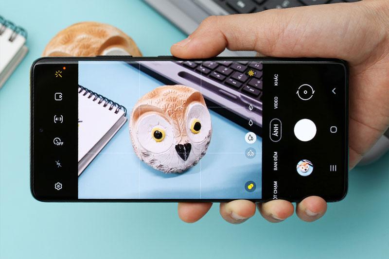 Galaxy S21 Ultra 5G | Giao diện chụp ảnh