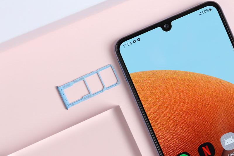 Điện thoại Samsung Galaxy A32 4G | Hỗ trợ thẻ nhớ ngoài