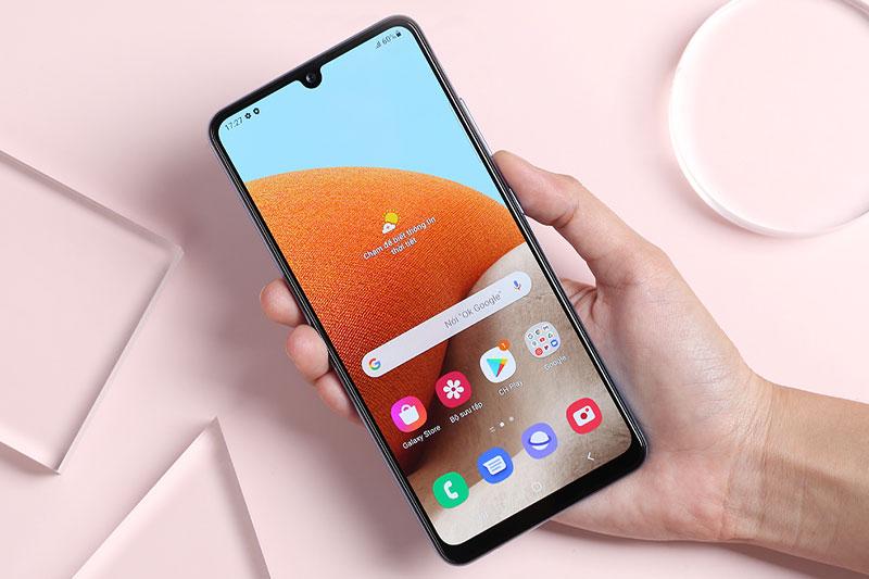 Điện thoại Samsung Galaxy A32 4G | Màn hình có tần số quét 90 Hz