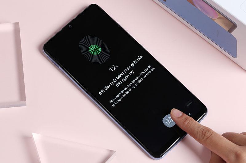 Điện thoại Samsung Galaxy A32 4G | Cảm biến vân tay dưới màn hình