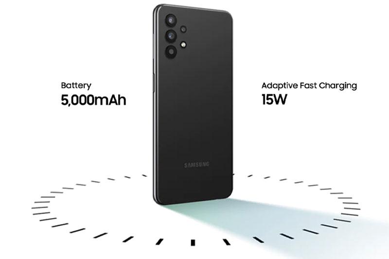 Điện thoại Samsung Galaxy A32 4G | Dung lượng pin lớn, 5000 mAh