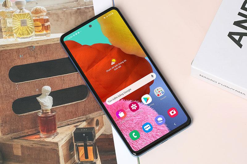 Điện thoại Samsung Galaxy A52 5G | Màn hình giải trí 120 Hz