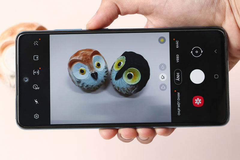 Điện thoại Samsung Galaxy A52 5G | Giao diện chụp ảnh