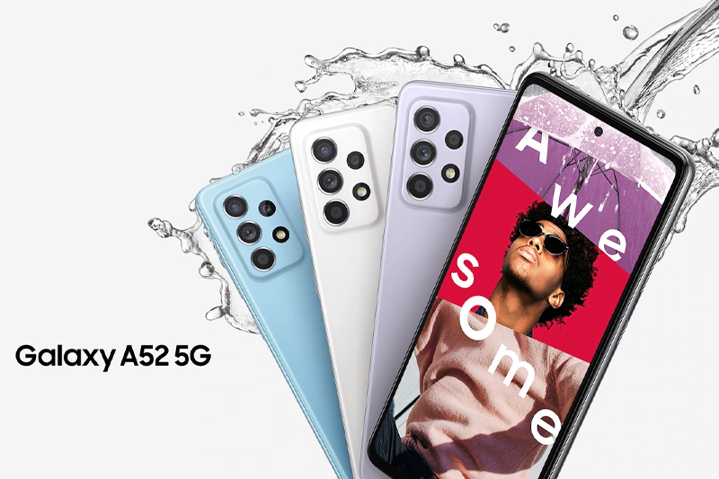 Điện thoại Samsung Galaxy A52 5G | Thiết kế hiện đại, mở đầu xu hướng