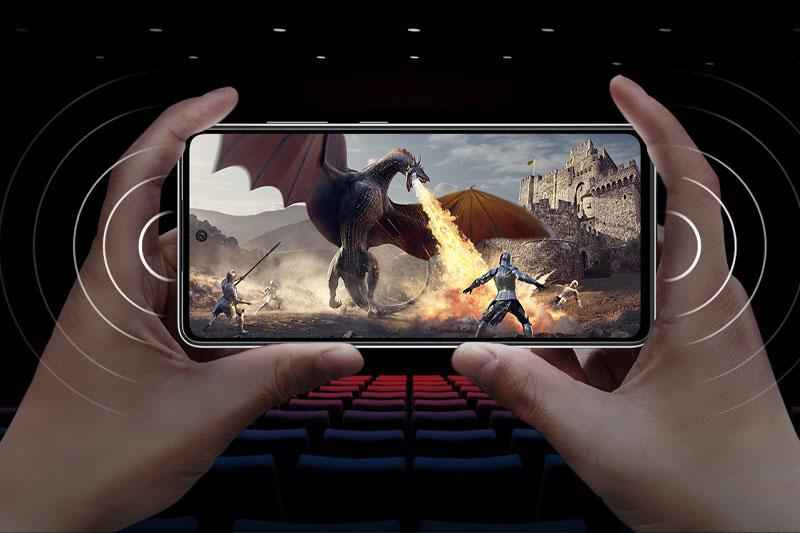 Điện thoại Samsung Galaxy A52 5G | Hệ thống âm thanh ấn tượng