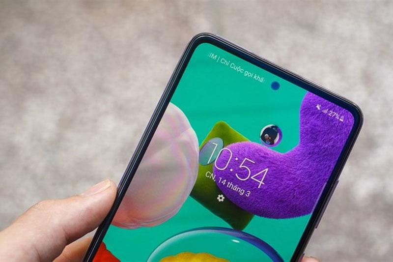 Điện thoại Samsung Galaxy A52 5G | Màn hình rộng 6.5 inch