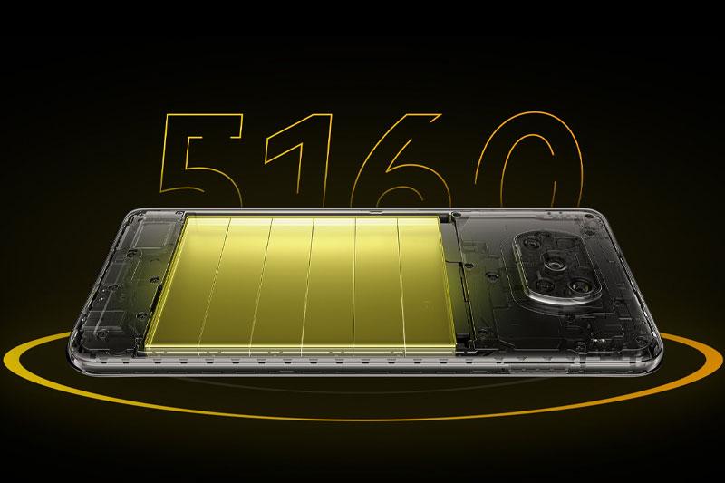 Điện thoại Xiaomi POCO X3 Pro | Thời lượng pin ấn tượng