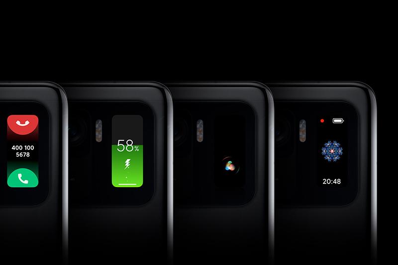 Xiaomi Mi 11 Ultra | Màn hình phụ sử dụng công nghệ AMOLED