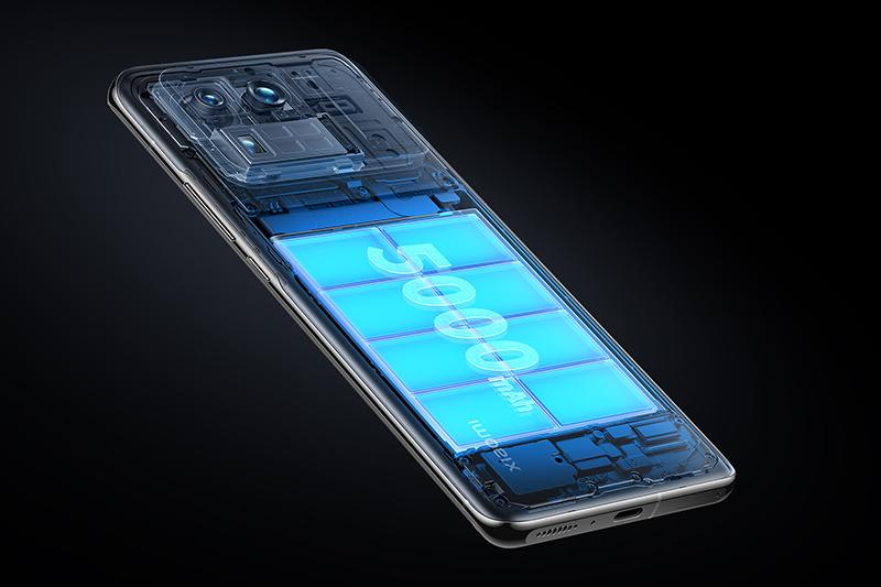 Xiaomi Mi 11 Ultra | Viên pin 5000 mAh