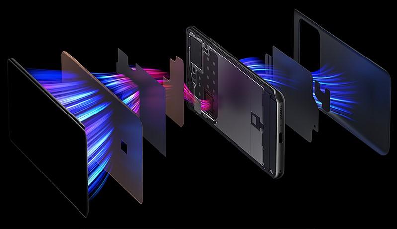 Xiaomi Mi 11 Ultra | Trang bị hệ thống tản nhiệt 3 pha tăng hiệu suất tản nhiệt lên đến 100%
