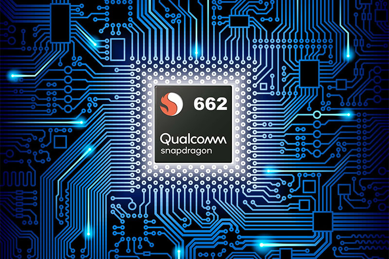 OPPO A74 | Trang bị chipset Snapdragon 662