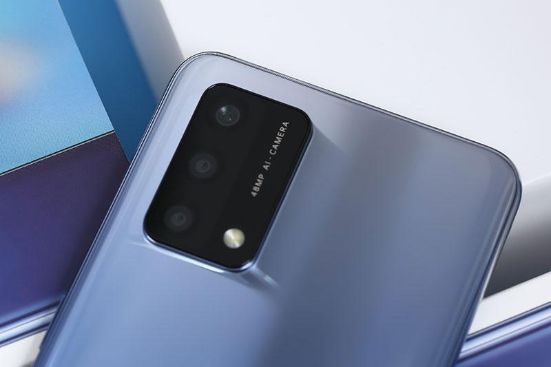 OPPO A74 | Cụm 3 camera sau độ phân giải đến 48 MP