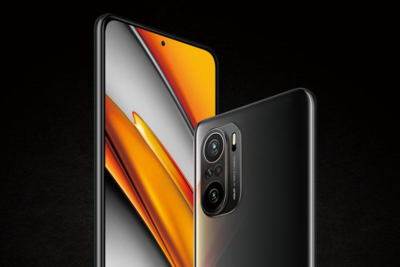 Xiaomi POCO F3   Thiết kế tràn viền, màn hình siêu lớn lên đến 6.67 inch
