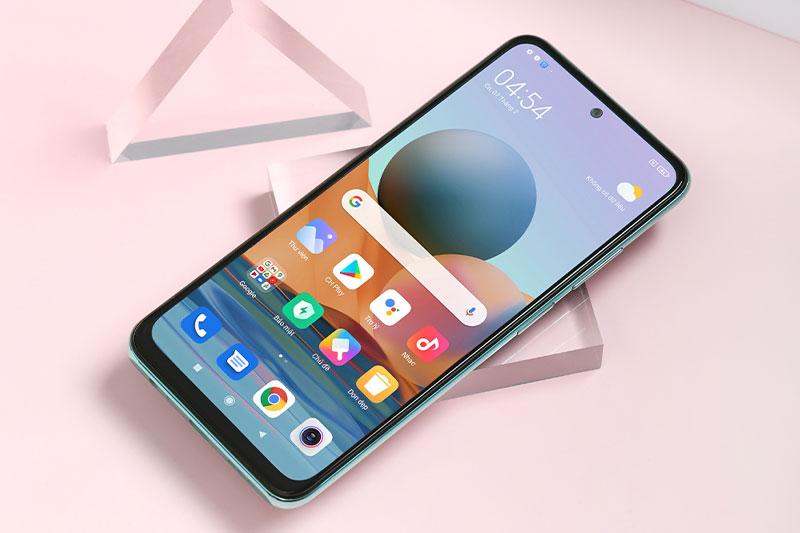 Thiết kế cao cấp cùng màn hình AMOLED tràn viền ấn tượng | Xiaomi Redmi Note 10