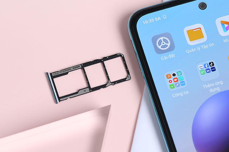 Hỗ trợ thẻ nhớ ngoài | Xiaomi Redmi Note 10