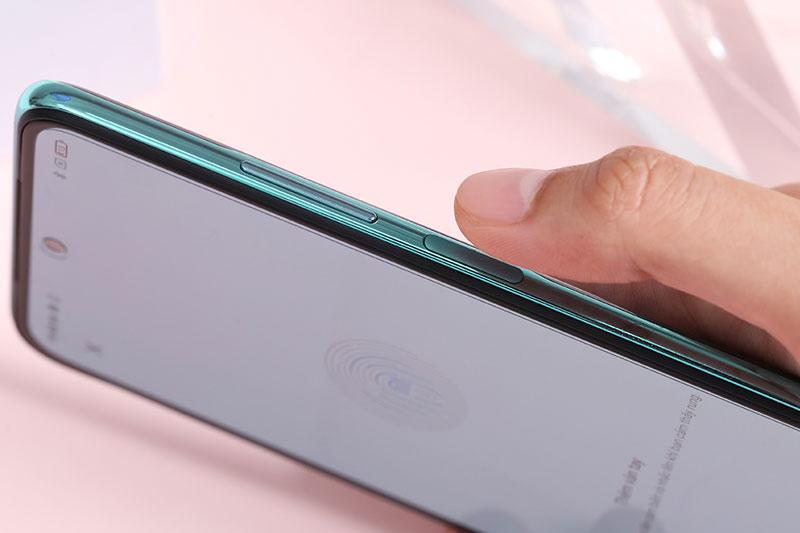 Cảm biến vân tay đặt ở cạnh viền | Xiaomi Redmi Note 10
