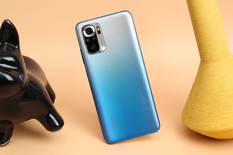 Xiaomi Redmi Note 10S | Thiết kế mặt lưng cao cấp