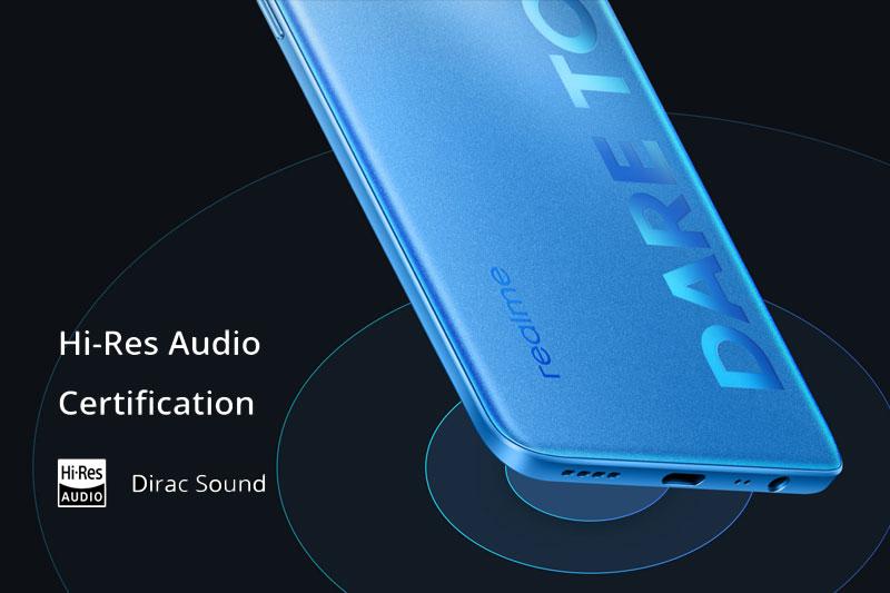 Điện thoại Realme 8 Pro | Hệ thống âm thanh chất lượng cao