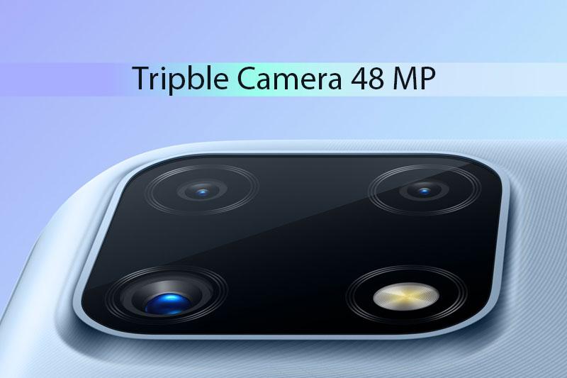 Điện thoại Realme C25 | Cụm 3 camera 48 MP