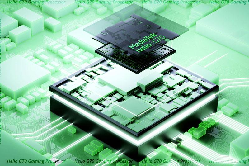 Điện thoại Realme C25 | Hiệu năng tốt với Helio G70