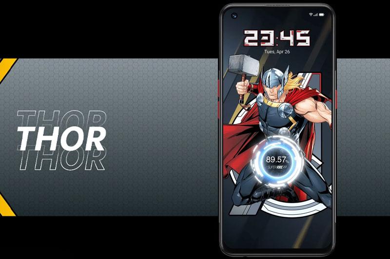 Điện thoại OPPO Reno5 Marvel | Khả năng sạc siêu nhanh 50 W