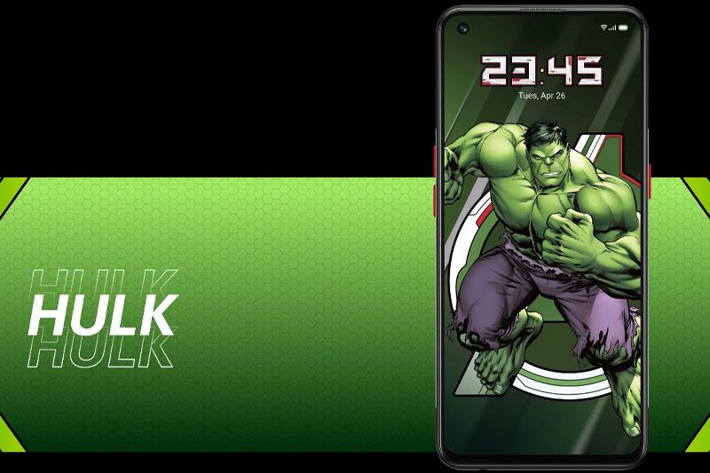 Điện thoại OPPO Reno5 Marvel | Màn hình bảo vệ sức khỏe người dùng