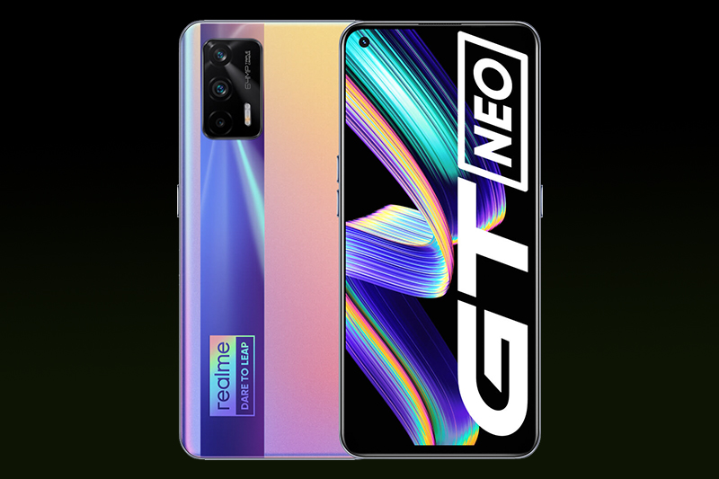 Realme GT Neo | Sử dụng tấm nền Super AMOLED 6.43 inch, độ phân giải Full HD+