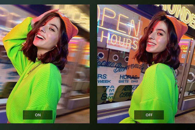 Realme GT Neo | Hỗ trợ các tính năng làm đẹp thông minh, chế độ siêu ban đêm