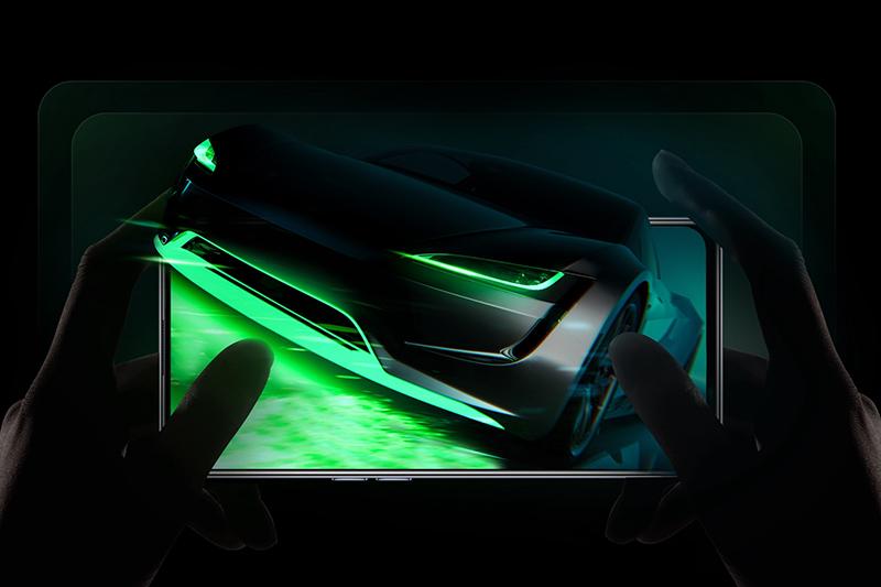 Realme GT Neo | RAM 12 GB đa nhiệm mượt mà, cùng với 256 GB bộ nhớ trong chiến game trơn tru