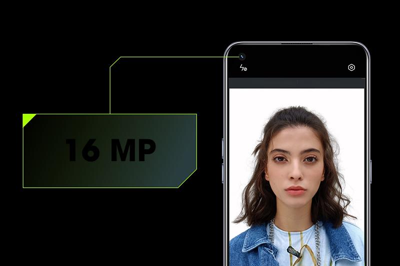 Realme GT Neo | Máy ảnh selfie góc rộng siêu rõ nét độ phân giải 16 MP