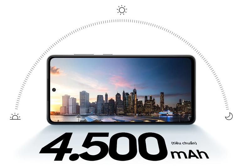 Samsung Galaxy A52   Dung lượng pin lớn 4500 mAh