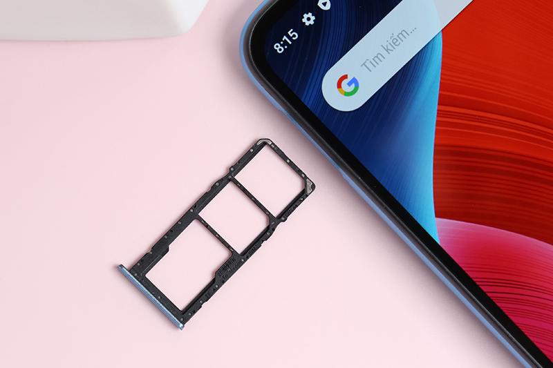 Realme C11 (2021) | Hỗ trợ mở rộng dung lượng qua thẻ nhớ ngoài
