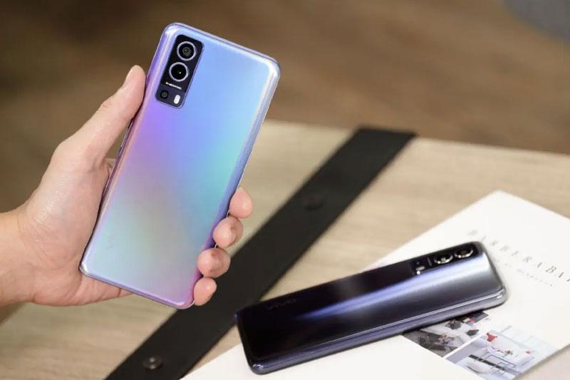 Điện thoại Vivo Y72 5G | Khả năng kết nối 5G tốc độ cao