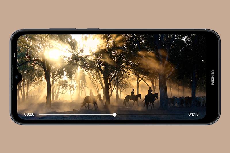 Nokia C20 | Đáp ứng tốt những nhu cầu hằng ngày như lướt web, xem Youtube