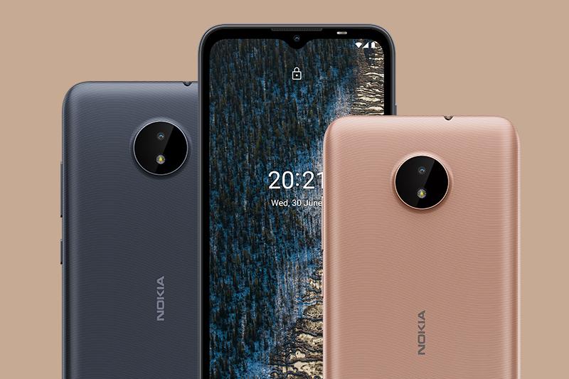 Nokia C20 | Sở hữu những gam màu phong cách thiết kế Bắc Âu sang trọng, thời trang