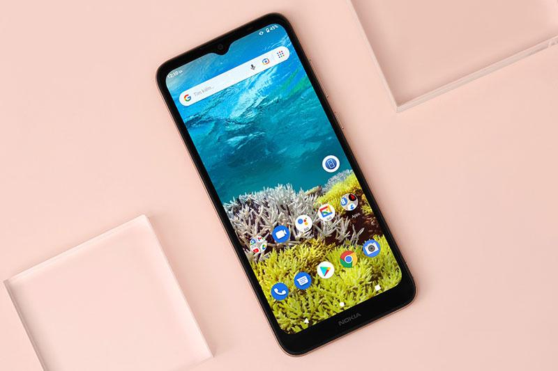 Nokia C20 | Tấm nền IPS LCD giúp màu sắc trong trẻo, ổn định
