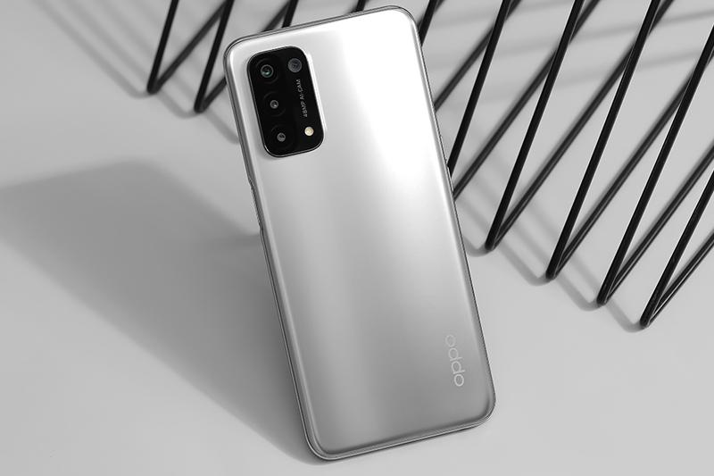 OPPO A74 5G   Thiết kế đơn giản, thời trang