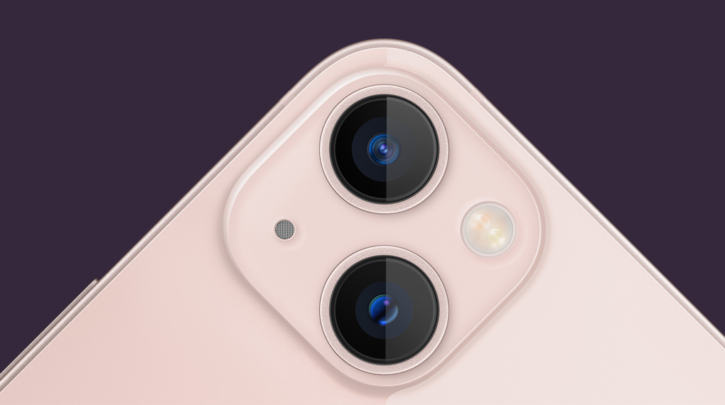 Cụm camera sau sắc nét - iPhone 13 mini 128GB