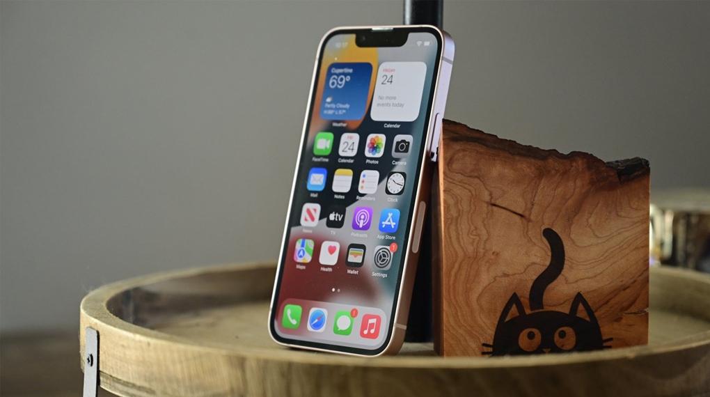 Thiết kế nguyên khối hiện đại - iPhone 13 mini 128GB