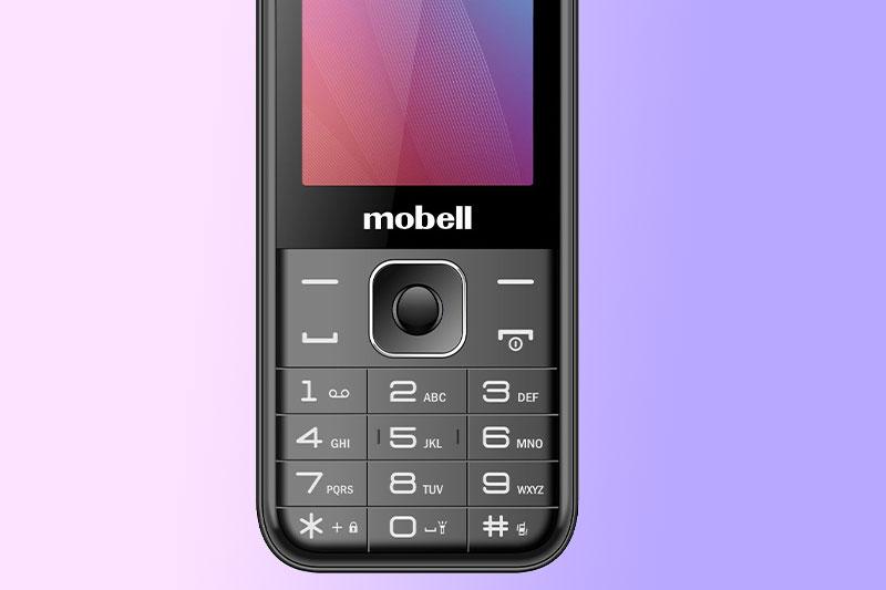 Điện thoại Mobell M319 (2021) | Bàn phím T9